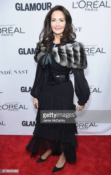 Lynda Carter attends Glamour's 2017 Women of The Year Awards at Kings Theatre on November 13 2017 in Brooklyn New York