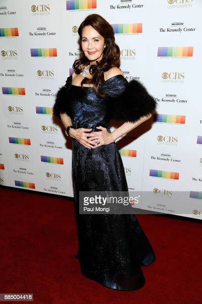 Lynda Carter attends the 40th Kennedy Center Honors at the Kennedy Center on December 3 2017 in Washington DC