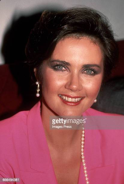 Lynda Carter circa 1984 in New York City