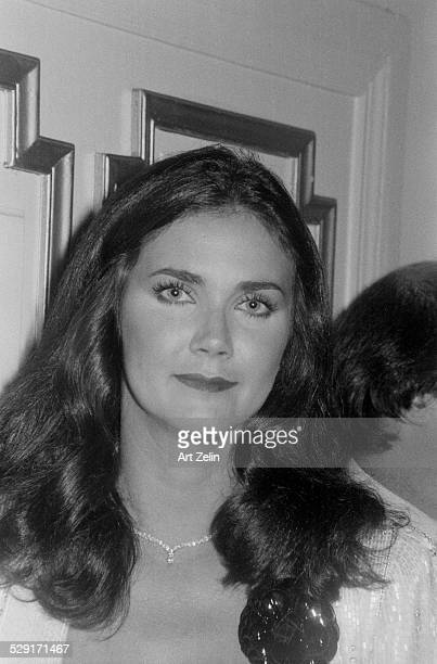 Lynda Carter closeup circa 1970 New York