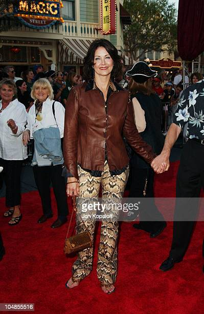 Lynda Carter during 'Pirates of the Caribbean The Curse of the Black Pearl' World Premiere at Disneyland in Anaheim California United States