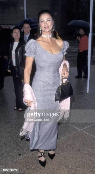 Lynda Carter during The 1999 ALMA Awards at Pasadena Civic Auditorium in Pasadena California United States