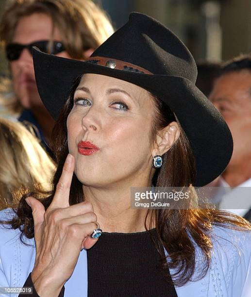 Lynda Carter during 'The Dukes of Hazzard' Los Angeles Premiere Arrivals at Grauman's Chinese Theatre in Hollywood California United States