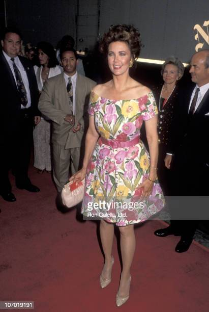 Lynda Carter during 'The Firm' Screening to Benefit the Robert Steel Foundation for Pediatric Cancer Research at Loews Astor Plaza in New York City...