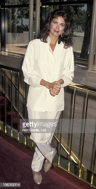 Lynda Carter during TV Critic Press Tour July 8 1994 at Universal Hilton Hotel in Universal City California United States