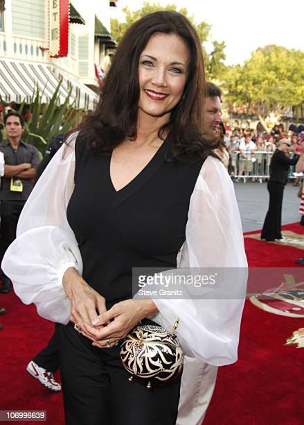 Lynda Carter during World Premiere of Walt Disney Pictures' 'Pirates of the Caribbean Dead Man's Chest' Arrivals at Disneyland in Anaheim California...