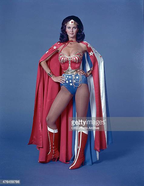 Lynda Carter stars in the CBS television series ' Wonder Woman' Image date 1978