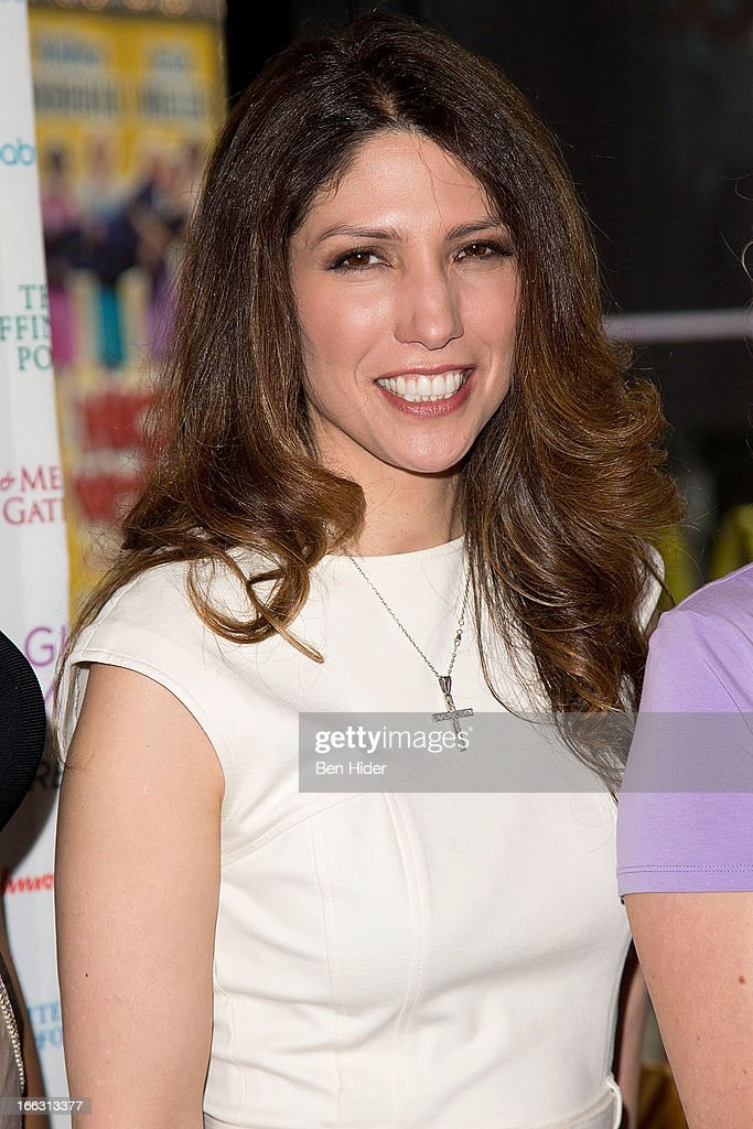 Lynda Lopez, Emmy Award-winning Journalist, Co-Founder of the Lopez Family Foundation attends Global Mom Relay Video Launch Event at Times Square on April 11, 2013 in New York City.