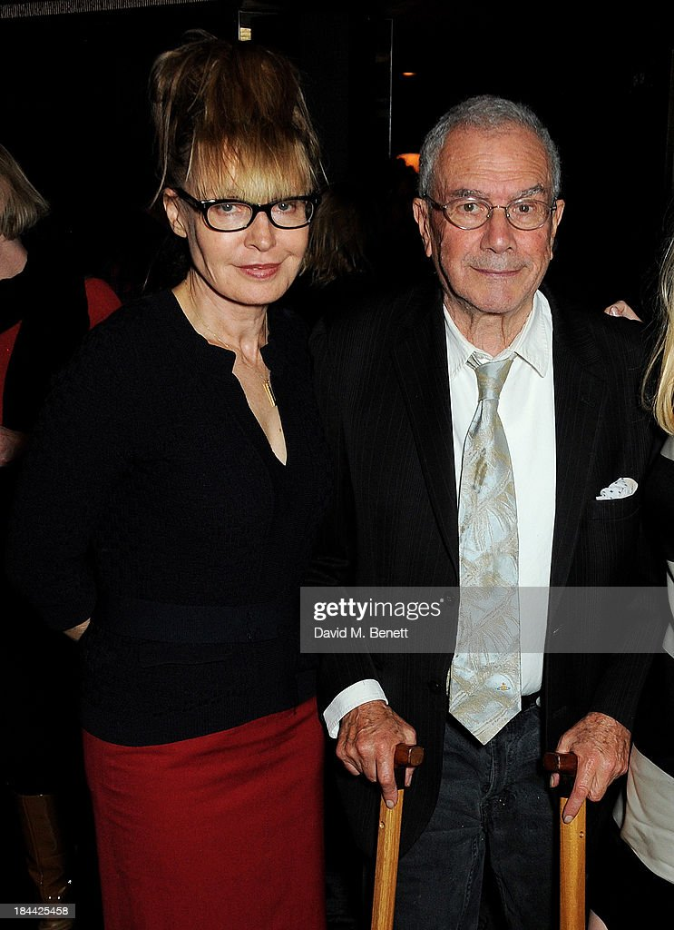 Lyndall Hobbs (L) and <a gi-track='captionPersonalityLinkClicked' href=/galleries/search?phrase=Michael+White+-+Producer&family=editorial&specificpeople=6514458 ng-click='$event.stopPropagation()'>Michael White</a> attend a post-screening party for 'The Last Impresario' during the 57th BFI London Film Festival at The Arts Club on October 13, 2013 in London, England.