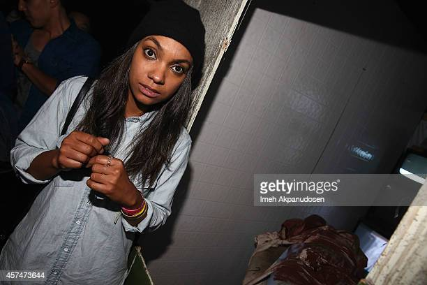 Lyndie Greenwood from FOX's Sleepy Hollow visited The Queen Mary's Dark Harbor and dared to voyage through the new and terrifying mazes filled with...