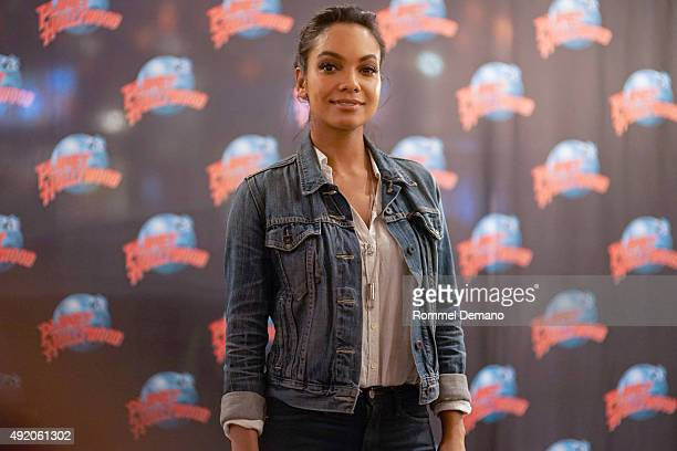 Lyndie Greenwood visits at Planet Hollywood Times Square on October 9 2015 in New York City