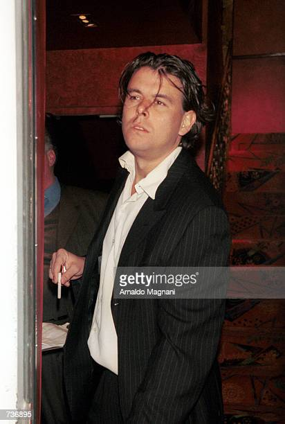 Lyndon Jones the brother of actress Catherine ZetaJones arrives at the Russian Tea Room before a prewedding reunion with the family of actor Michael...