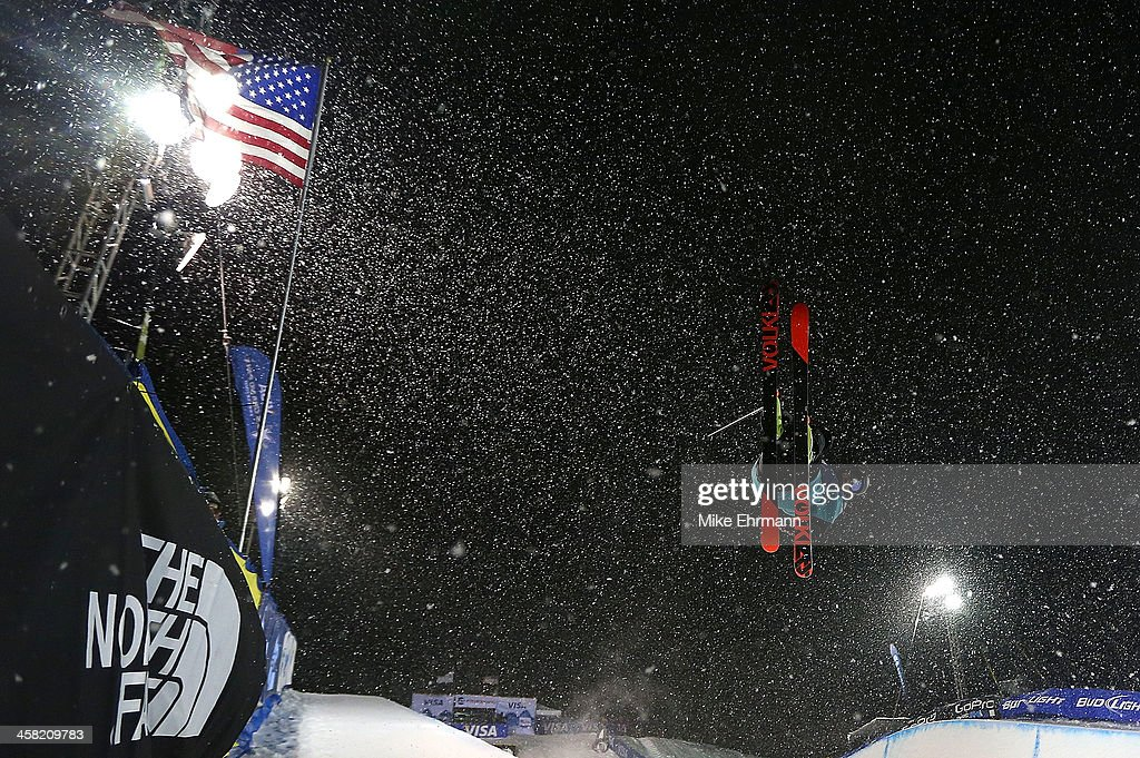 <a gi-track='captionPersonalityLinkClicked' href=/galleries/search?phrase=Lyndon+Sheehan&family=editorial&specificpeople=6217383 ng-click='$event.stopPropagation()'>Lyndon Sheehan</a> of New Zealand competes during finals for the mens FIS Ski Halfpipe World Cup at U.S. Snowboarding and Freeskiing Grand Prix on December 20, 2013 in Copper Mountain, Colorado.