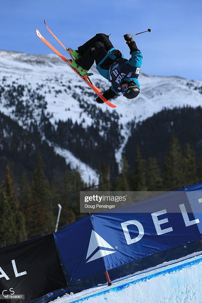 <a gi-track='captionPersonalityLinkClicked' href=/galleries/search?phrase=Lyndon+Sheehan&family=editorial&specificpeople=6217383 ng-click='$event.stopPropagation()'>Lyndon Sheehan</a> of New Zealand competes during qualifying for the men's FIS Halfpipe Freestyle Ski World Cup at the U.S. Snowboarding and Freeskiing Grand Prix on December 19, 2013 in Copper Mountain, Colorado.