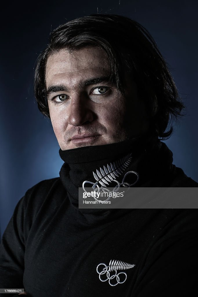 <a gi-track='captionPersonalityLinkClicked' href=/galleries/search?phrase=Lyndon+Sheehan&family=editorial&specificpeople=6217383 ng-click='$event.stopPropagation()'>Lyndon Sheehan</a> of New Zealand poses during a New Zealand Winter Olympic team portrait session on July 25, 2013 in Wanaka, New Zealand.