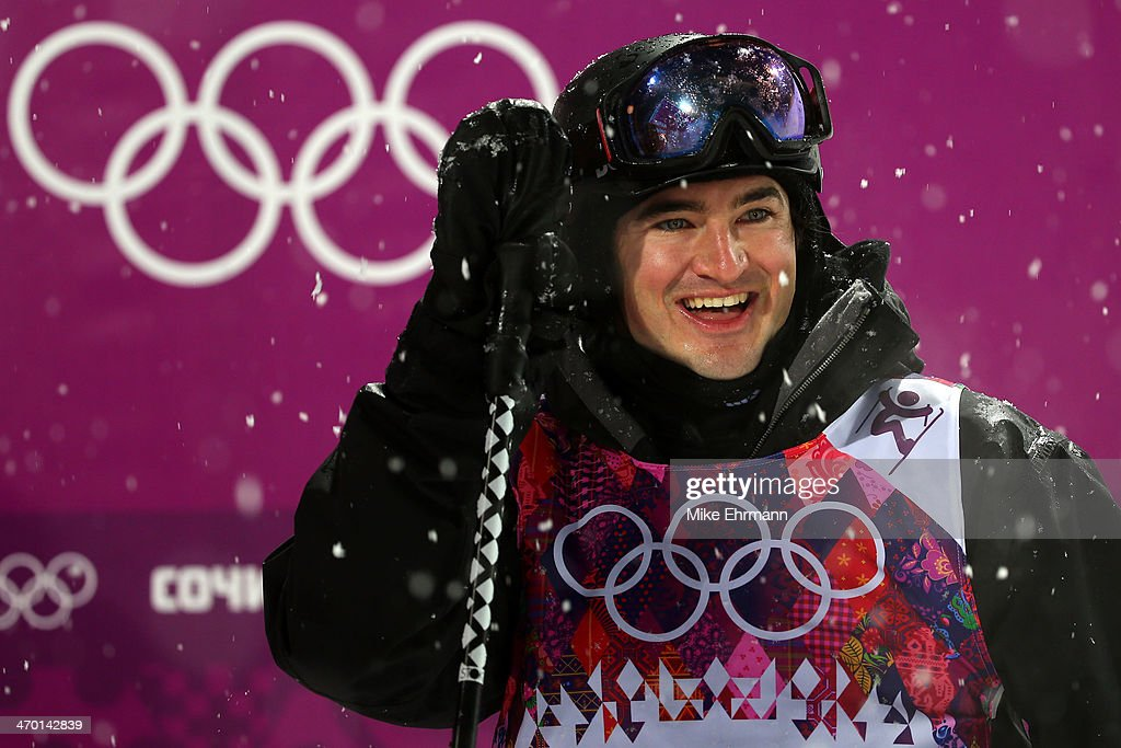 <a gi-track='captionPersonalityLinkClicked' href=/galleries/search?phrase=Lyndon+Sheehan&family=editorial&specificpeople=6217383 ng-click='$event.stopPropagation()'>Lyndon Sheehan</a> of New Zealand smiles in the Freestyle Skiing Men's Ski Halfpipe Finals on day eleven of the 2014 2014 Winter Olympics at Rosa Khutor Extreme Park on February 18, 2014 in Sochi, Russia.