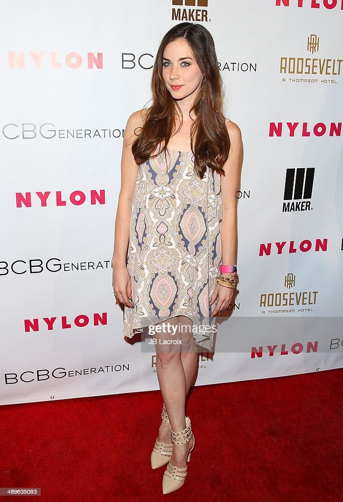 Lyndon Smith attends the Nylon Magazine May Young Hollywood Issue Party on May 8, 2014 in Hollywood, California.