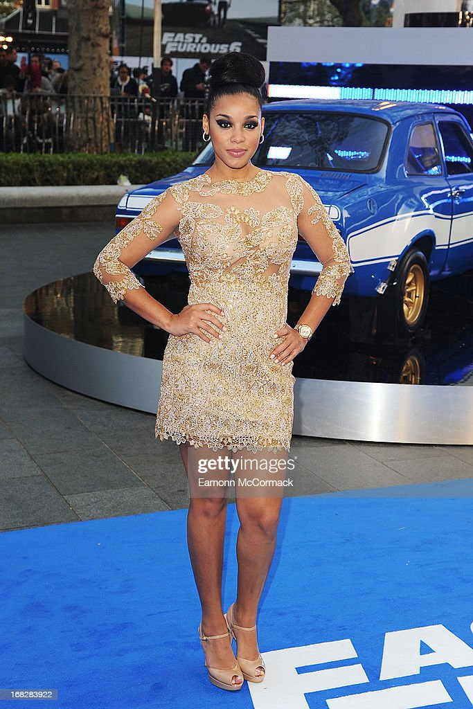 Lyndriette Kristal Smith attends the World Premiere of 'Fast & Furious 6' at Empire Leicester Square on May 7, 2013 in London, England.