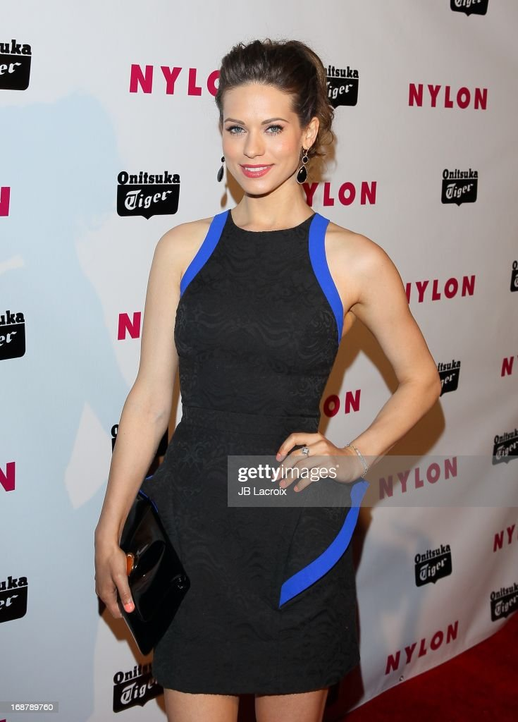 Lyndsy Fonseca attends the NYLON Magazine Annual May Young Hollywood Issue Party at The Roosevelt Hotel on May 14, 2013 in Hollywood, California.