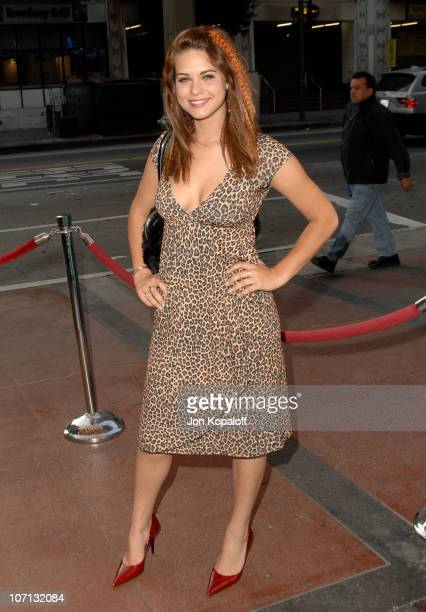 Lyndsy Fonseca during 16th Annual Music Video Production Awards at The Orpheum Theater in Los Angeles California United States