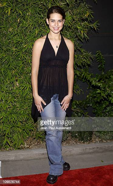 Lyndsy Fonseca during Movieline's Hollywood Life Magazine Kickoff Party Sponsored by CirocSnap Frost Vodka Parasuco Jeans and The Unusual Suspects...