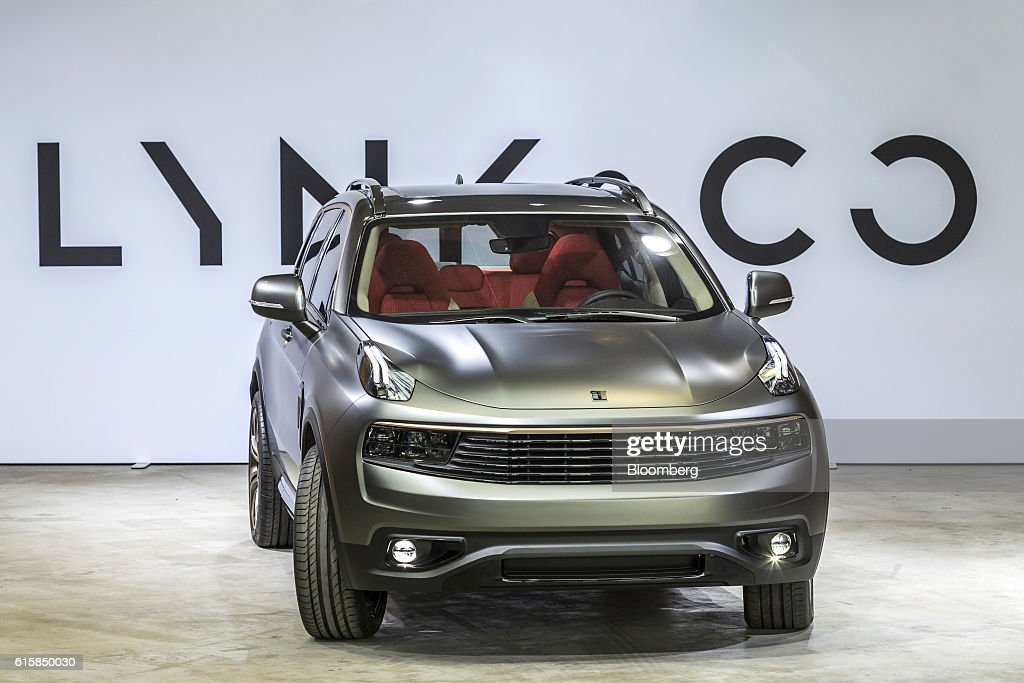 Geely Automobile Holdings Ltd Unveil Their New Lynk Co Mid