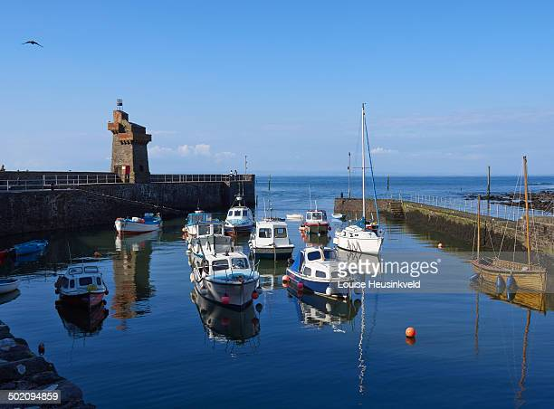 Lynmouth Harbour and Rhenish Tower, Devon