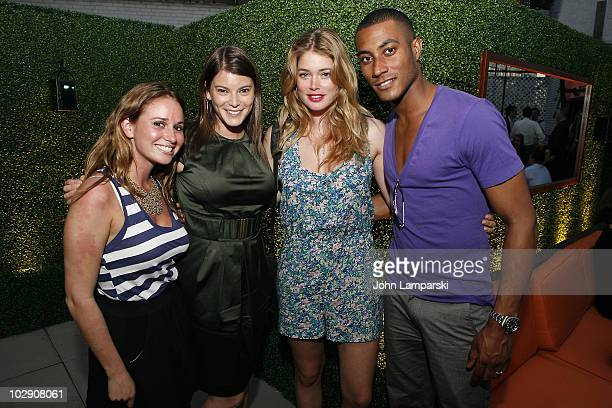 Lynn Bordsky Gail Simmons Doutzen Kroes and Sunnery James attend 'The World's Largest Potluck' benefiting God's Love We Deliver at the Empire Hotel...
