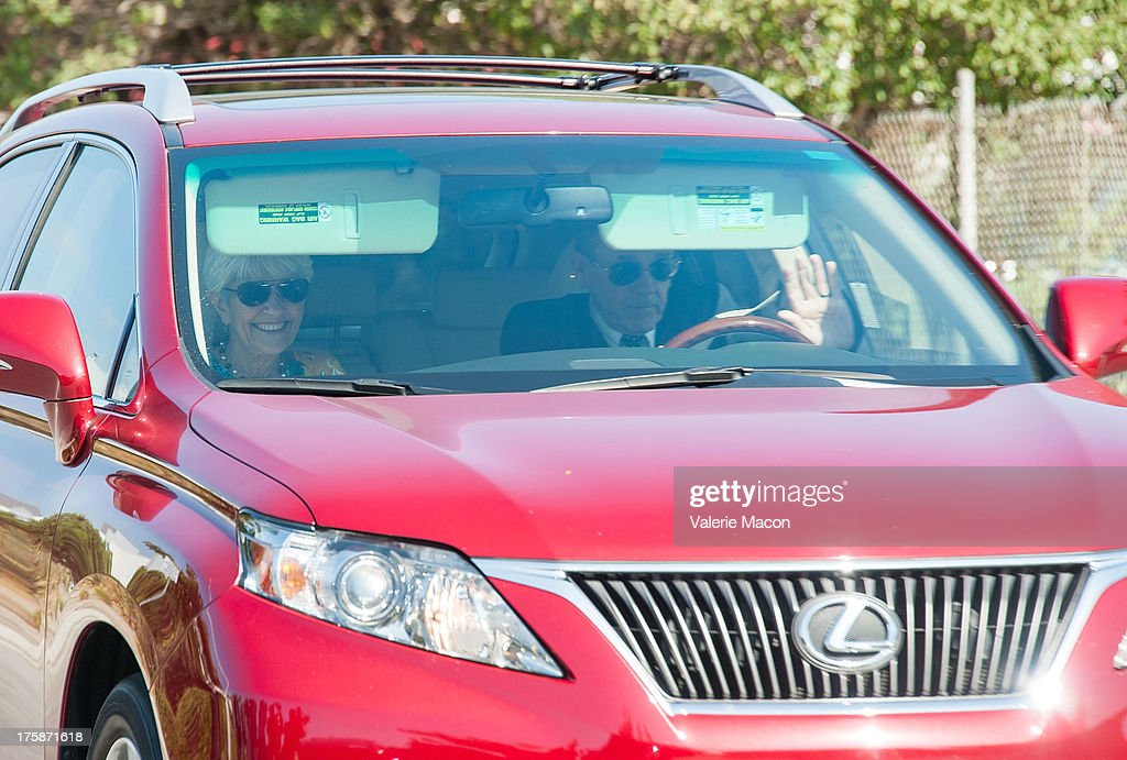 Lynn Bynes and Rick Bynes, Amanda Bynes' parents, depart after a hearing which granted them temporary conservatorship and extended Bynes hospital stay an additional 30 days for psychological treatment August 9, 2013 at the Ventura Superior Court in Oxnard, California. Amanda Bynes has been hospitalized by court order since July 24 after allegedly starting a fire in the driveway of a private residential property.