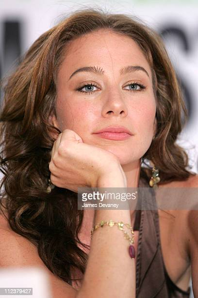 Lynn Collins during 2004 Toronto International Film Festival 'Merchant of Venice' Press Conference at Four Seasons in Toronto Ontario Canada