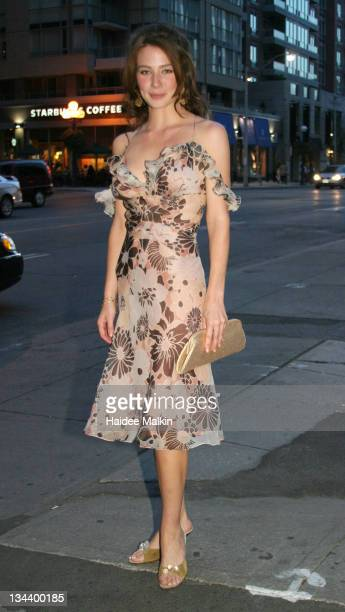 Lynn Collins during 2004 Toronto International Film Festival 'Merchant of Venice' Premiere Afterparty at Pangea in Toronto Canada