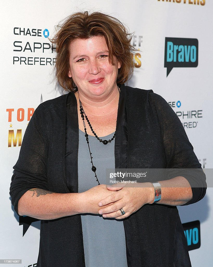 Lynn Crawford attends Bravo's 'Top Chef Masters' Season 5 Premiere Celebration at 82 Mercer on July 16, 2013 in New York City.