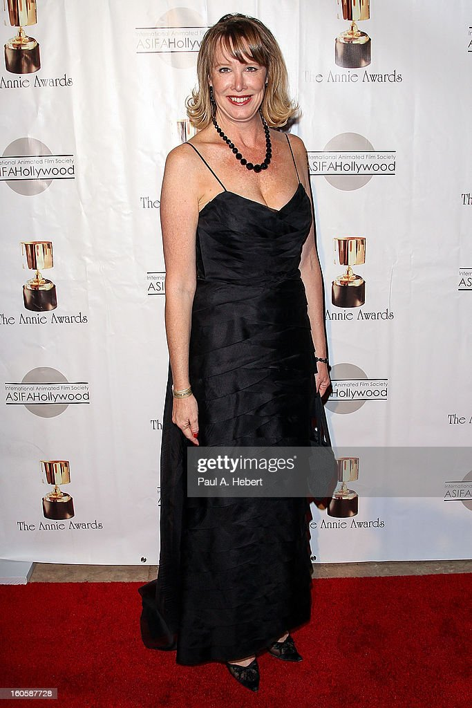 Lynn Hobson arrives at the 40th Annual Annie Awards held at Royce Hall on the UCLA Campus on February 2, 2013 in Westwood, California.