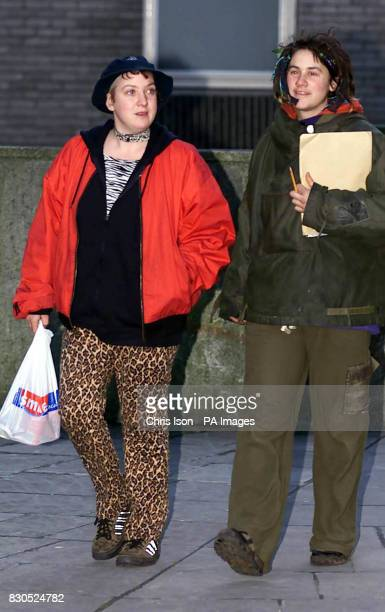 Lynn Marie Coles 25 at Bristol Magistrates' Court after she was arrested in the city on 09/01/01 after allegedly hitting Prime Minister Tony Blair on...