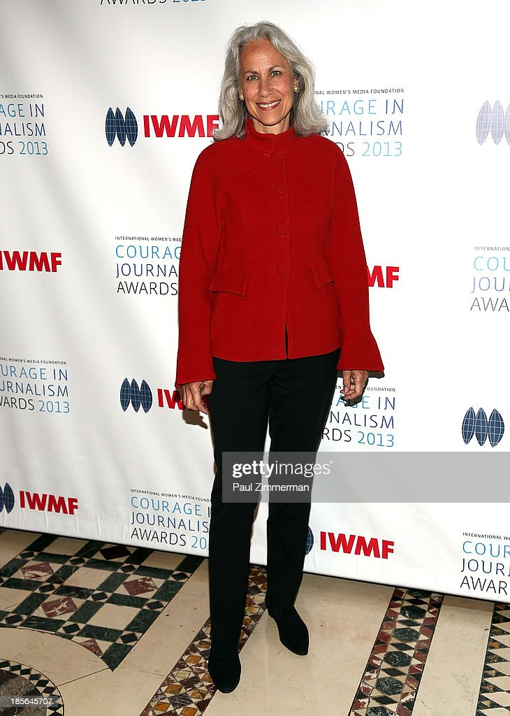 Lynn Povich attends the International Women's Media Foundation's 2013 Courage In Journalism awards at Cipriani 42nd Street on October 23, 2013 in New York City.