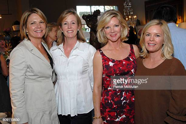 Lynn Pyle Diane Connelly Leslie Holden and Shelly Belling attend Cocktails at Hollyhock Honoring Mish NY and the Breast Center at UCLA at West...