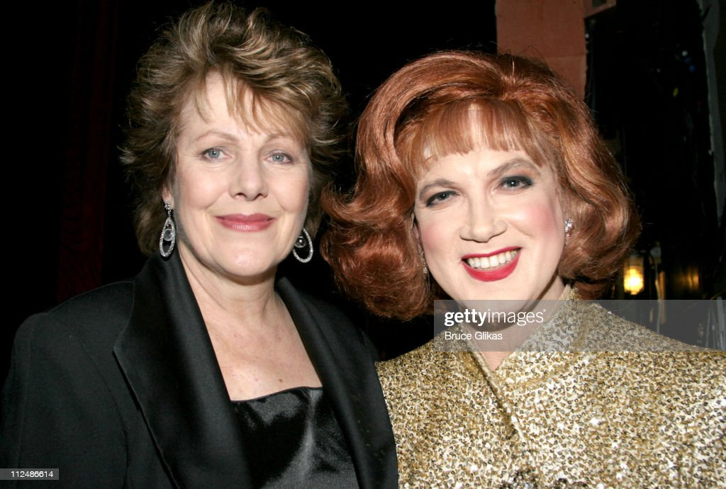 Lynn Redgrave and Charles Busch during 'Nothing Like A Dame' 2005 Benefit at The Marquis Theater in New York City NY United States