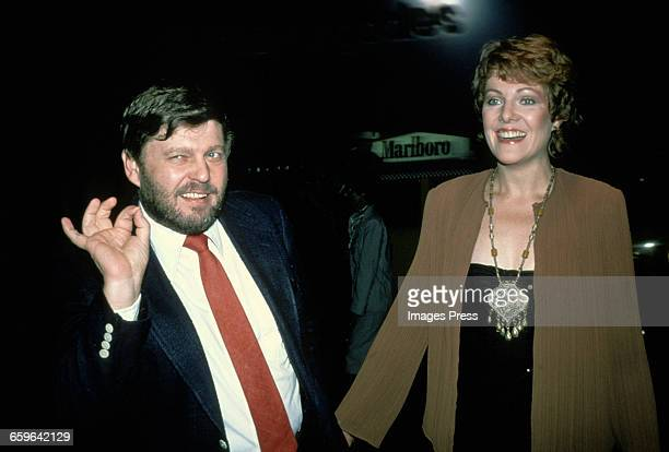 Lynn Redgrave and husband John Clark circa 1979 in New York City