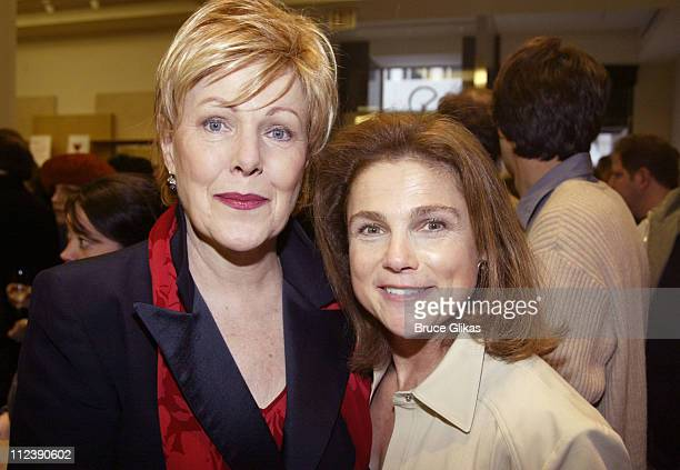 Lynn Redgrave and Tovah Feldshuh during The Official Drama Desk Cocktail Party at St John Boutique in New York City New York United States