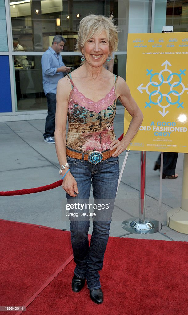 Lynn Sterling arrives at the Los Angeles Premiere of 'A Good Old Fashioned Orgy' at the ArcLight Theater on August 25 2011 in Hollywood California