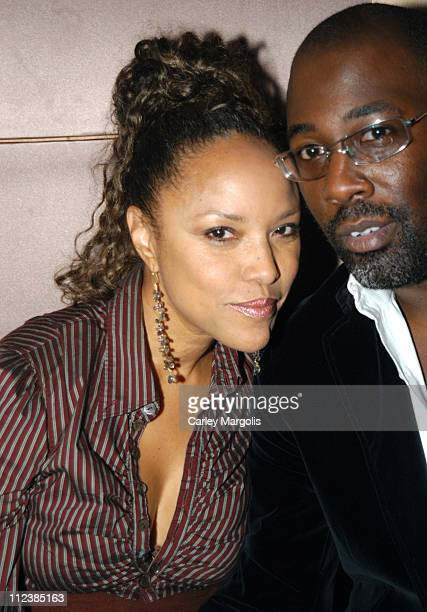 Lynn Whitfield and guest during Ashton Kutcher and Celebrities Party at Lotus September 12 2004 at Lotus in New York City New York United States