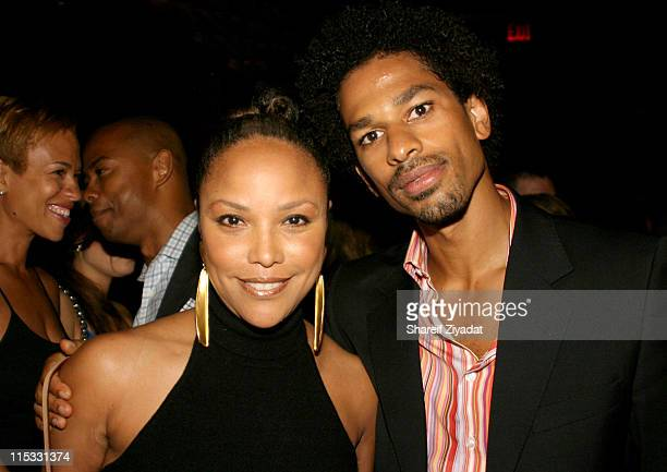 Lynn Whitfield and Toure during 'Soul City' Book Release Party at Lotus at Lotus in New York New York United States