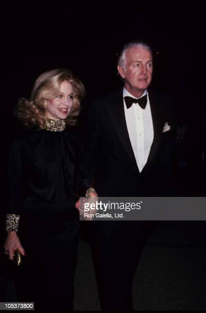 Lynn Wyatt and Givenchy during 'The 18th Century Woman' Costume Exhibition at Metropolitian Museum of Art in New York City New York United States