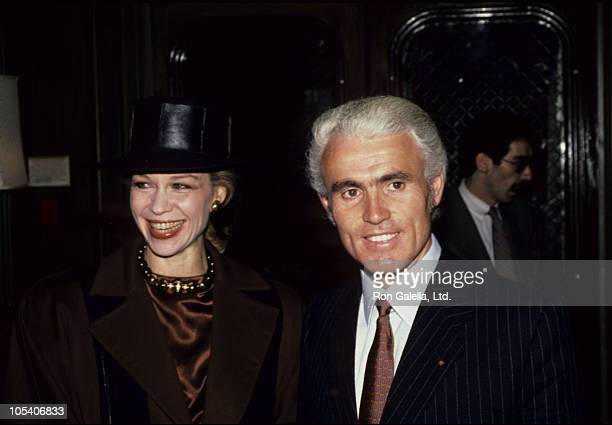 Lynn Wyatt and Yves Piaget during Princess Grace Foundation Fundraising Gala at State Department in Washington DC Maryland United States