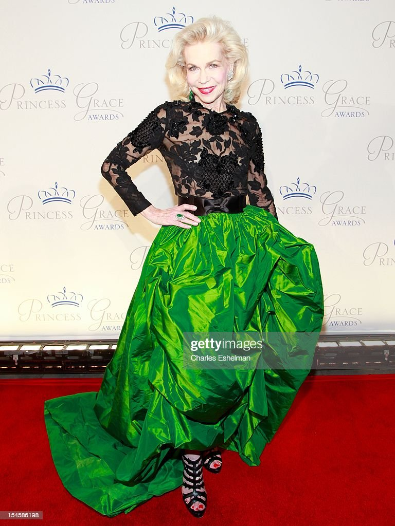 Lynn Wyatt attends 30th Anniversary Princess Grace Awards Gala at Cipriani 42nd Street on October 22, 2012 in New York City.
