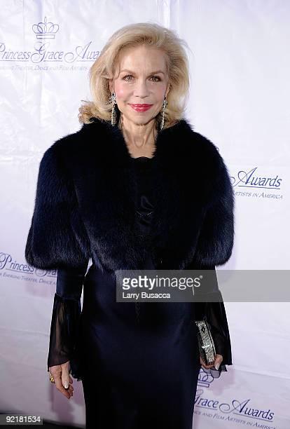 Lynn Wyatt attends the 2009 Princess Grace Awards Gala at Cipriani 42nd Street on October 21 2009 in New York City