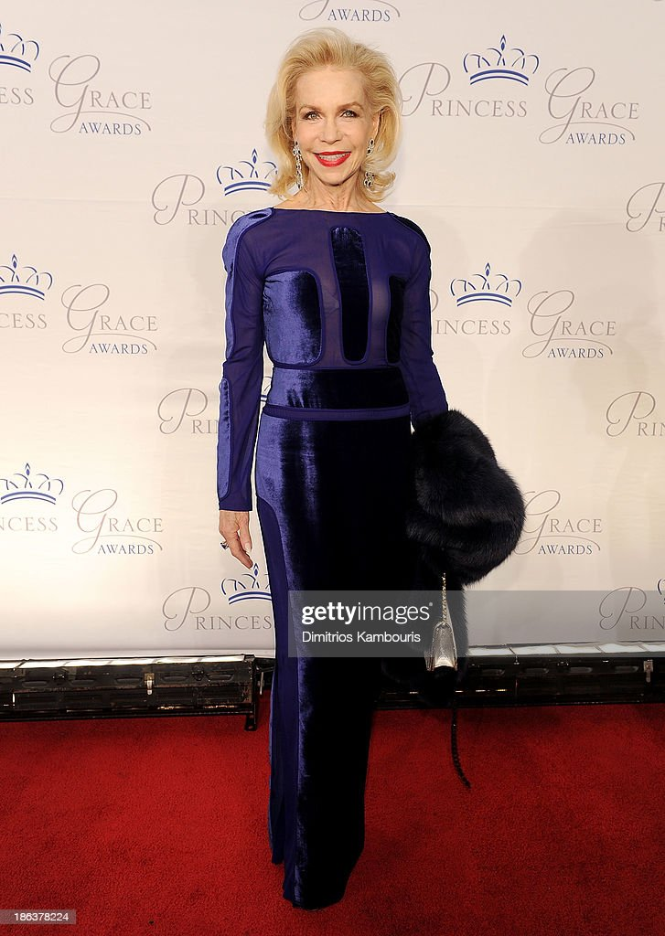 Lynn Wyatt attends the 2013 Princess Grace Awards Gala at Cipriani 42nd Street on October 30, 2013 in New York City.