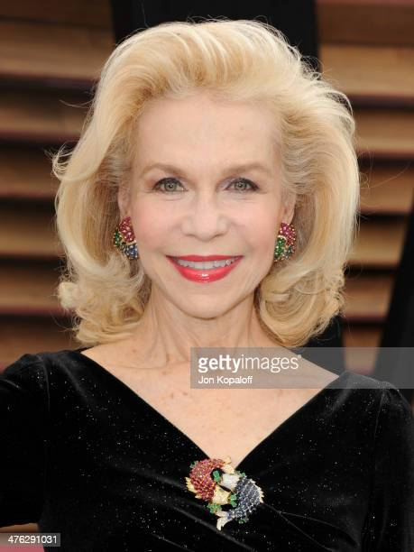 Lynn Wyatt attends the 2014 Vanity Fair Oscar Party hosted by Graydon Carter on March 2 2014 in West Hollywood California