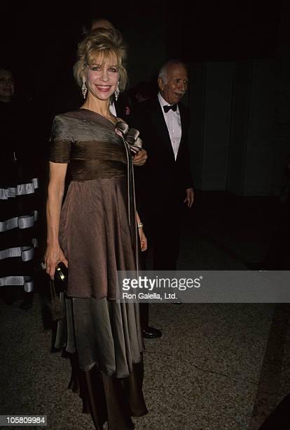 Lynn Wyatt during Costume Institute Gala Theatre de la Mode December 3 1990 at Metropolitan Museum of Art in New York City New York United States