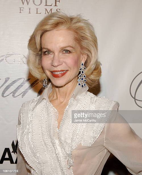 Lynn Wyatt during The 2006 Princess Grace Awards Gala at Cipriani 42nd Street in New York City New York United States